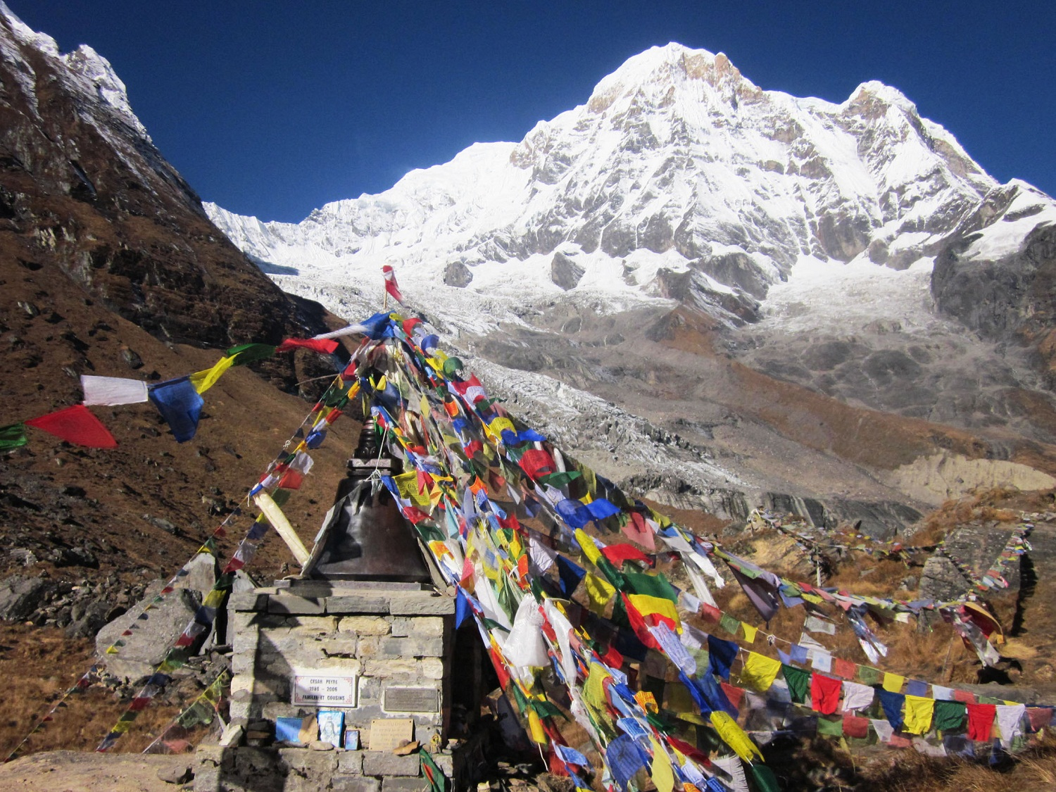 Between Dhaulagiri and Annapurna - Ananda Adventure P  Ltd